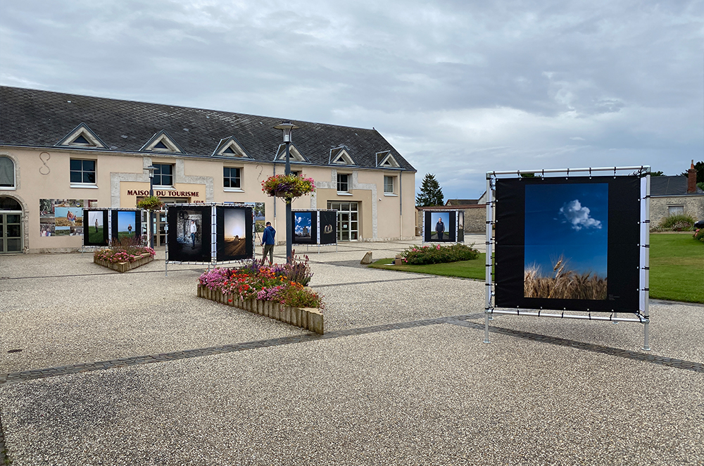Première de l'exposition à Orgères-en-Beauce